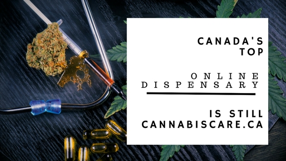 Canada's Top Online Dispensary Is Still Cannabiscare.ca