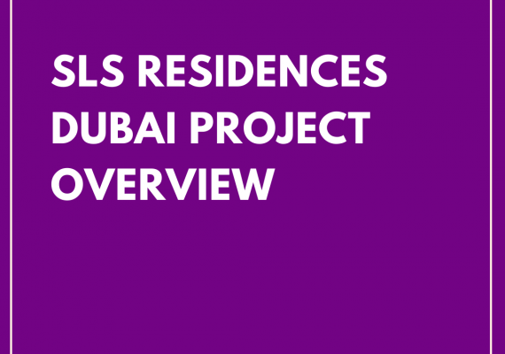 Spot on the 'SLS Residences Dubai'