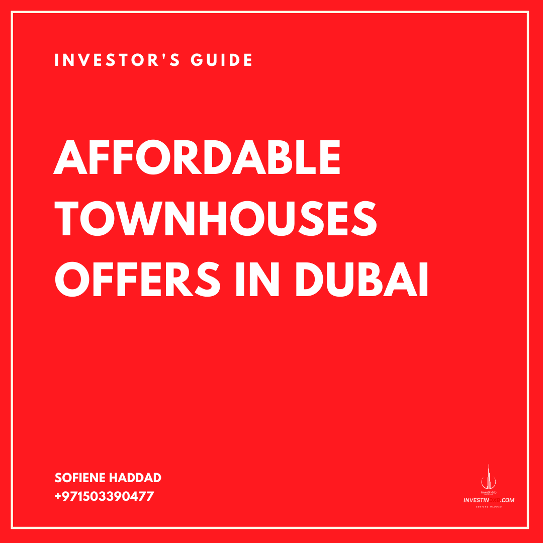 Affordable Townhouses in Dubai