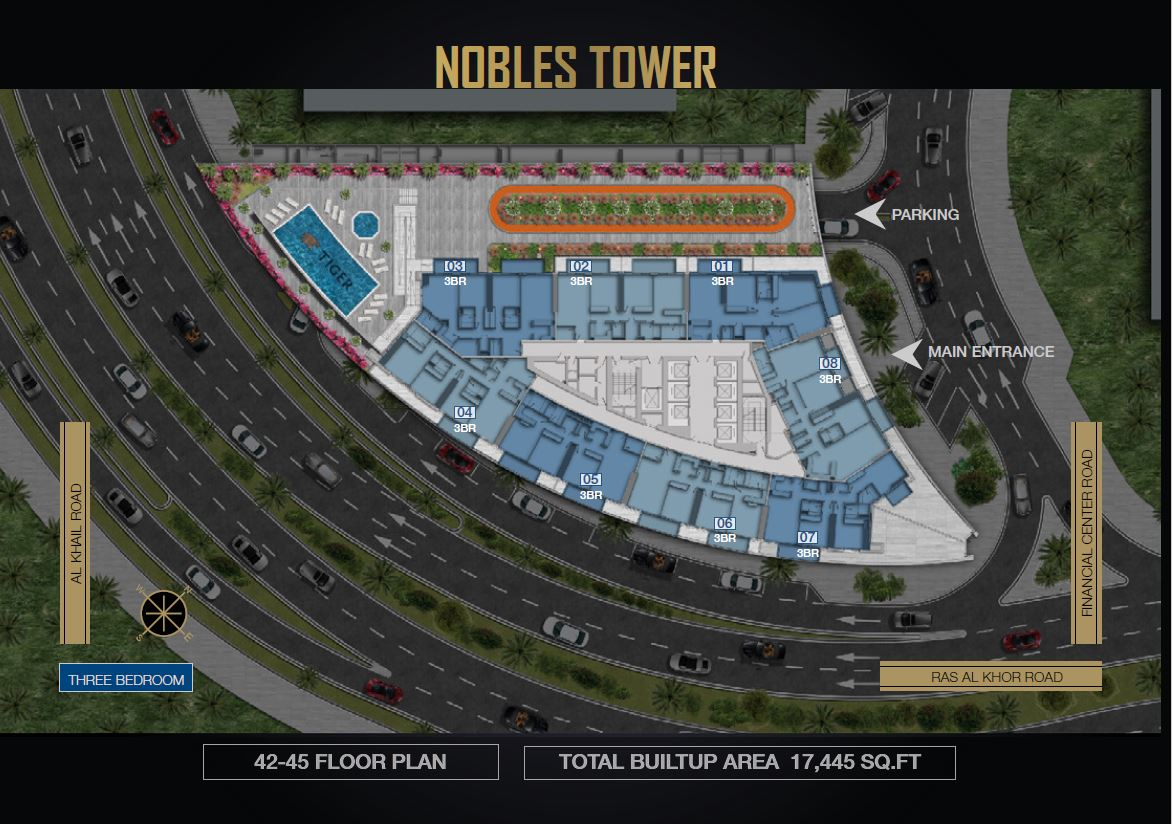 Nobles Tower by Tiger