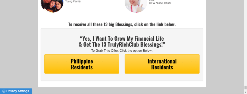 how to join truly rich club