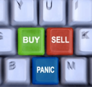 Panic selling should be coming your way.
