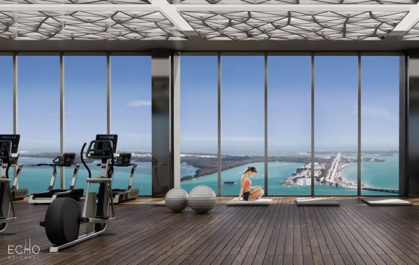 Echo brickell 1451 brickell ave condos for sale for 3000 sq ft gym layout