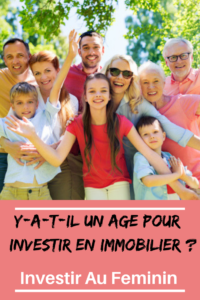 âge pour investir en immobilier