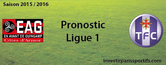 Pari n°30 – Guingamp / Toulouse – Ligue 1