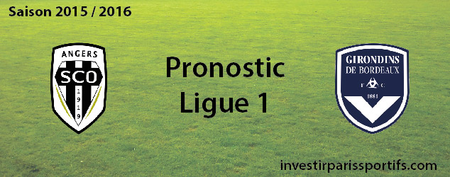Pari n°37 – Angers / Bordeaux- Ligue 1