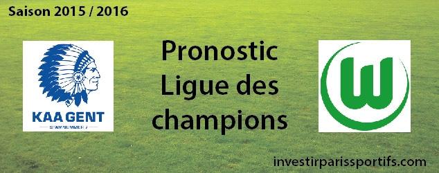 Pari n°57 – La Gantoise / Wolfsburg – Ligue des champions