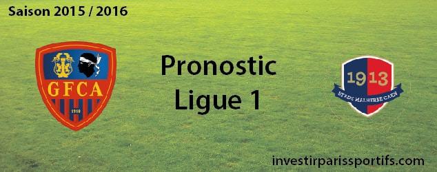 Pari n°62 – Ajaccio / Caen – Ligue 1