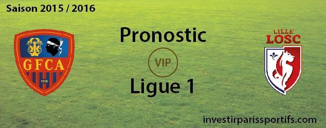 [VIP] Pari n°70 – GFC Ajaccio / Lille – Ligue 1 – Déverouillé