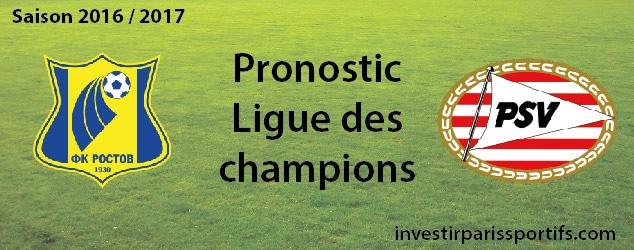 [PUBLIC] Pari n°2 – Rostov / PSV – Ligue des champions
