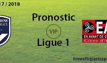Pronostic investirparissportifs.com - Investir paris sportifs Bordeaux Guingamp