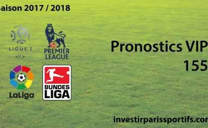 Pronostic VIP 155 - investirparissportifs.com