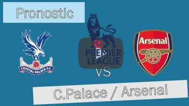 Pronostic investirparissportifs.com - Investir paris sportifs Crystal Palace Arsenal
