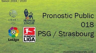Pronostic PSG Strasbourg, Prono ligue 1, paris sportifs ligue 1, parisian