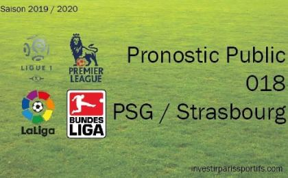 Pronostic PSG Strasbourg, Prono ligue 1, paris sportifs ligue 1, parisian