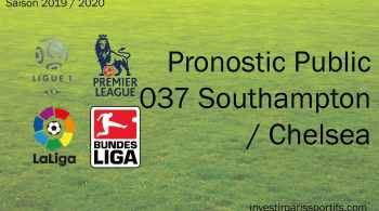 Pronostic Southampton Chelsea, Prono ligue 1, paris sportifs ligue 1, parisian