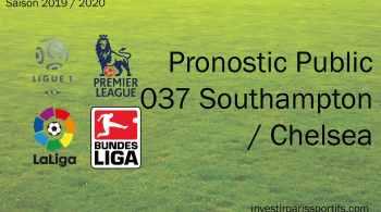 Pronostic Southampton Chelsea, Prono ligue 1, paris sportifs ligue 1, parisian