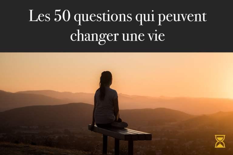 Questions qui changent une vie