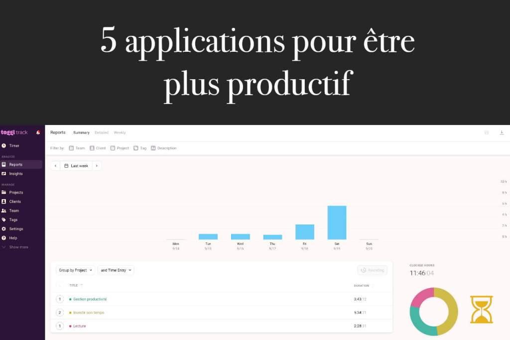 Applications productivité