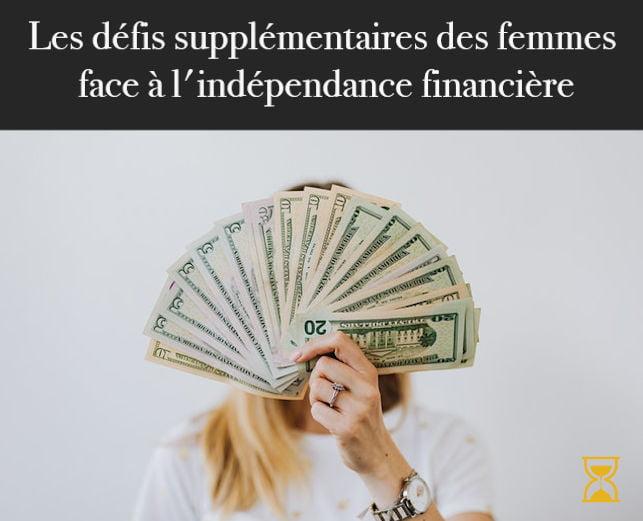 Femme indépendance financière