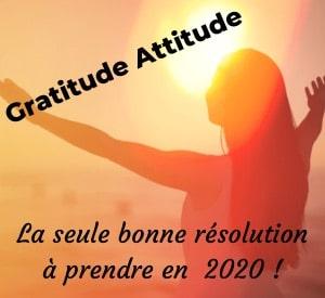 La Bonne Résolution Pour 2020, Pratiquer La Gratitude Sans Modération