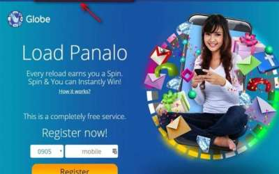 Spin and Win a Gadget with Globe Load Panalo Promo