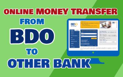 BDO Internet Banking: BDO Online Transfer to Other Bank