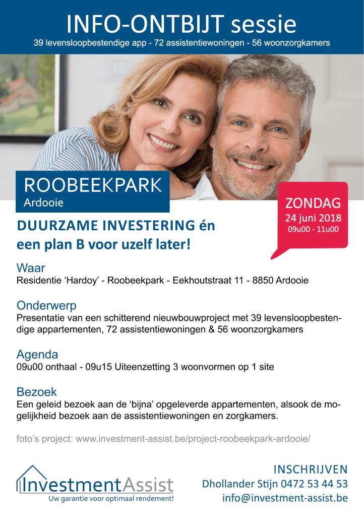 Investment-Assist ontbijt-info sessie Roobeekpark Ardooie