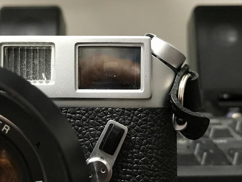 Leica M4のファインダー