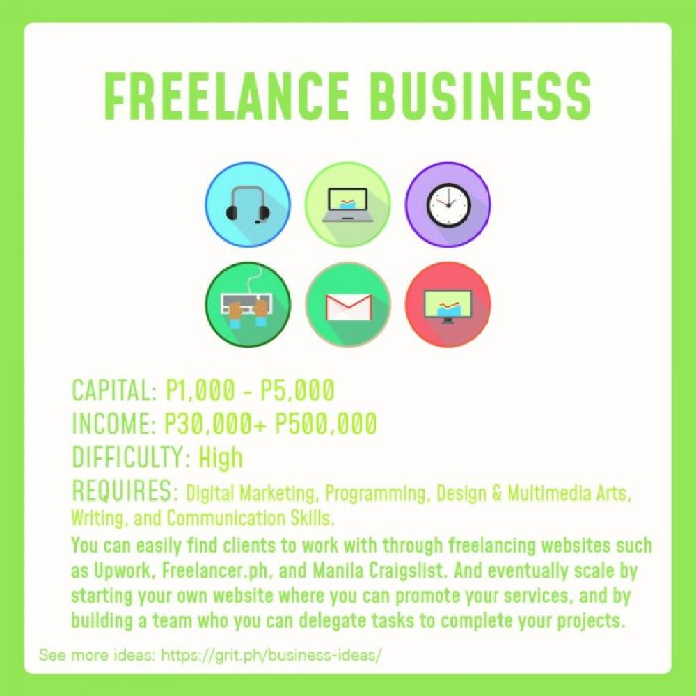 small business idea freelance business