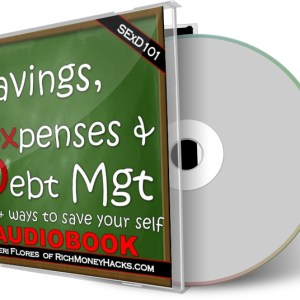 savings expenses debt management audiobook