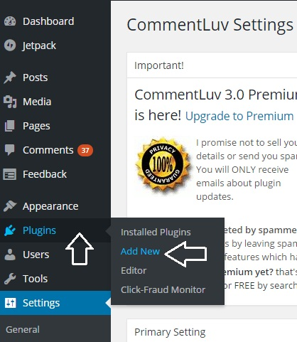 How to Install CommentLuv on WordPress