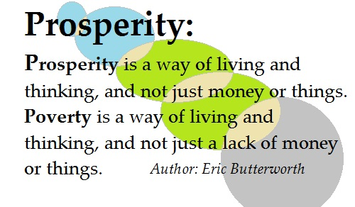 What is Prosperity and Poverty