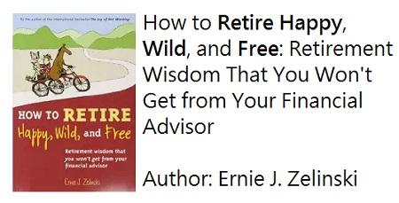 retire happy wild and free, favorite retirement book