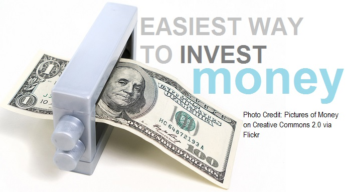 easiest way to invest money