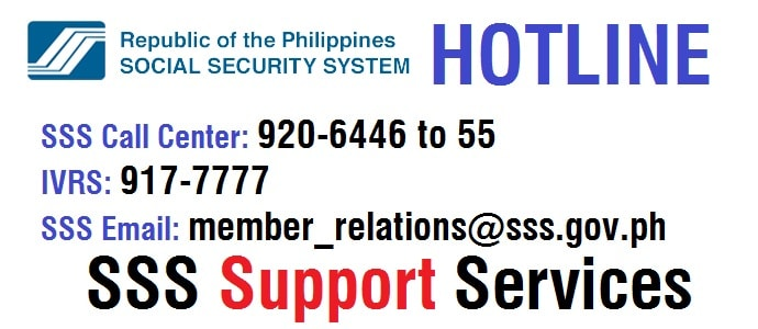 SSS Hotline Support Services: Philippines Social Security System