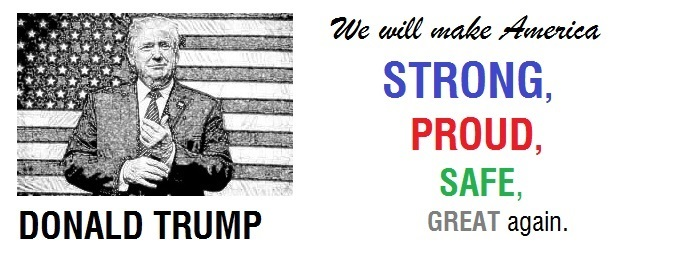 President Donald Trump We Will Make America Great Again