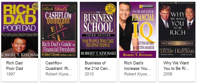 popular robert kiyosaki books