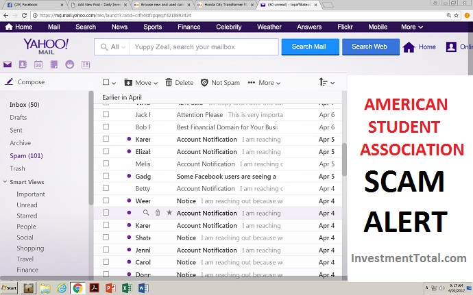 American Student Association Reduction Plans Scam Alert