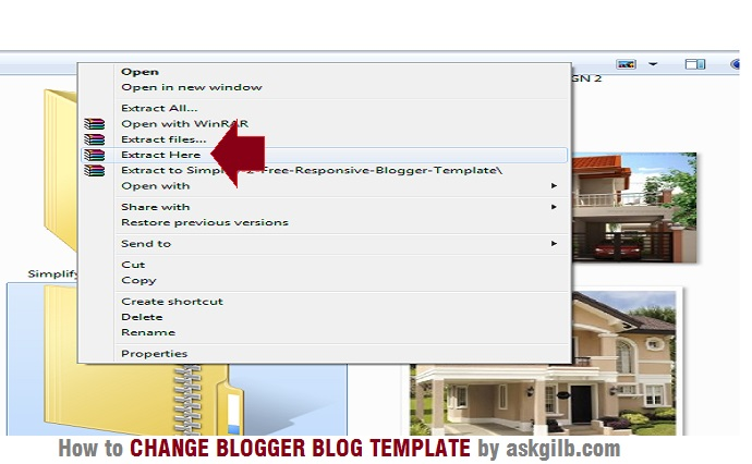 how to change new blogger blog template customized html