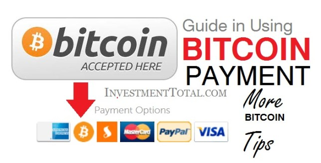Bitcoin Payment Guide in Shopping Online