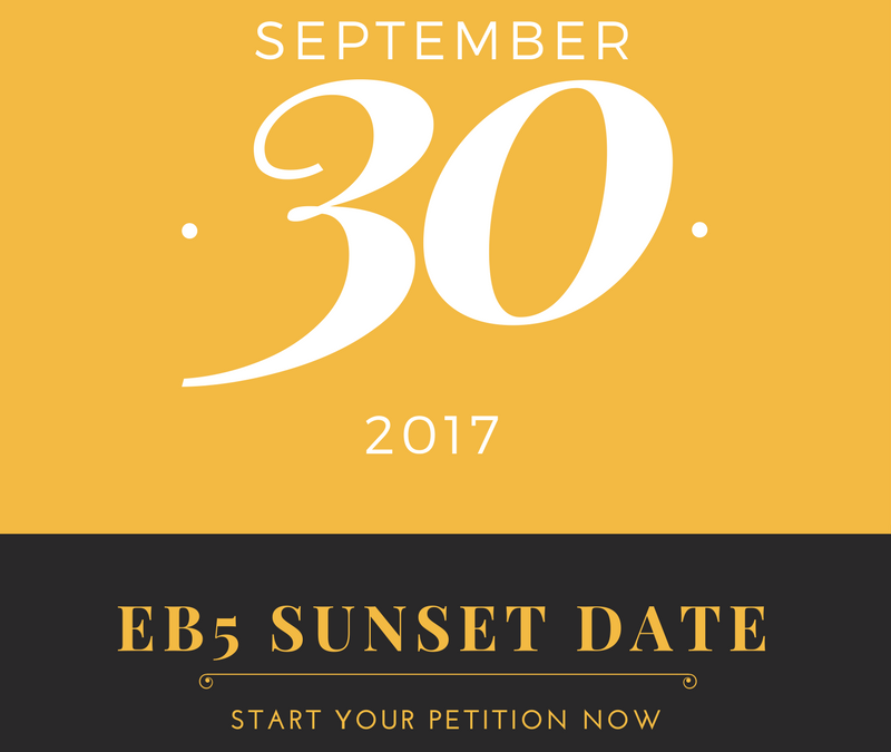 EB 5 United States Investment Visa Extended till September 30, 2017