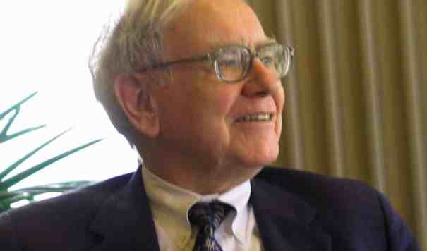 warren buffett ku visit