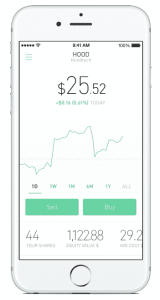 robinhood app screenshot