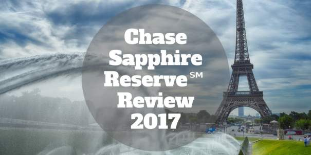 chase sapphire review 2017