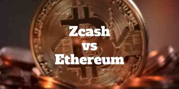 zcash vs ethereum