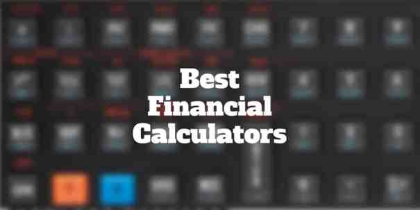 What Is The Best Financial Calculator  Investormint
