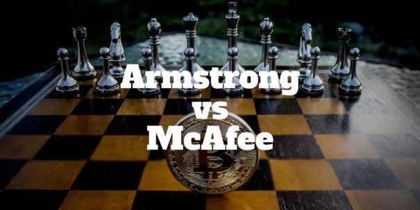 armstrong vs mcafee