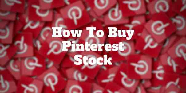 how to buy pinterest stock