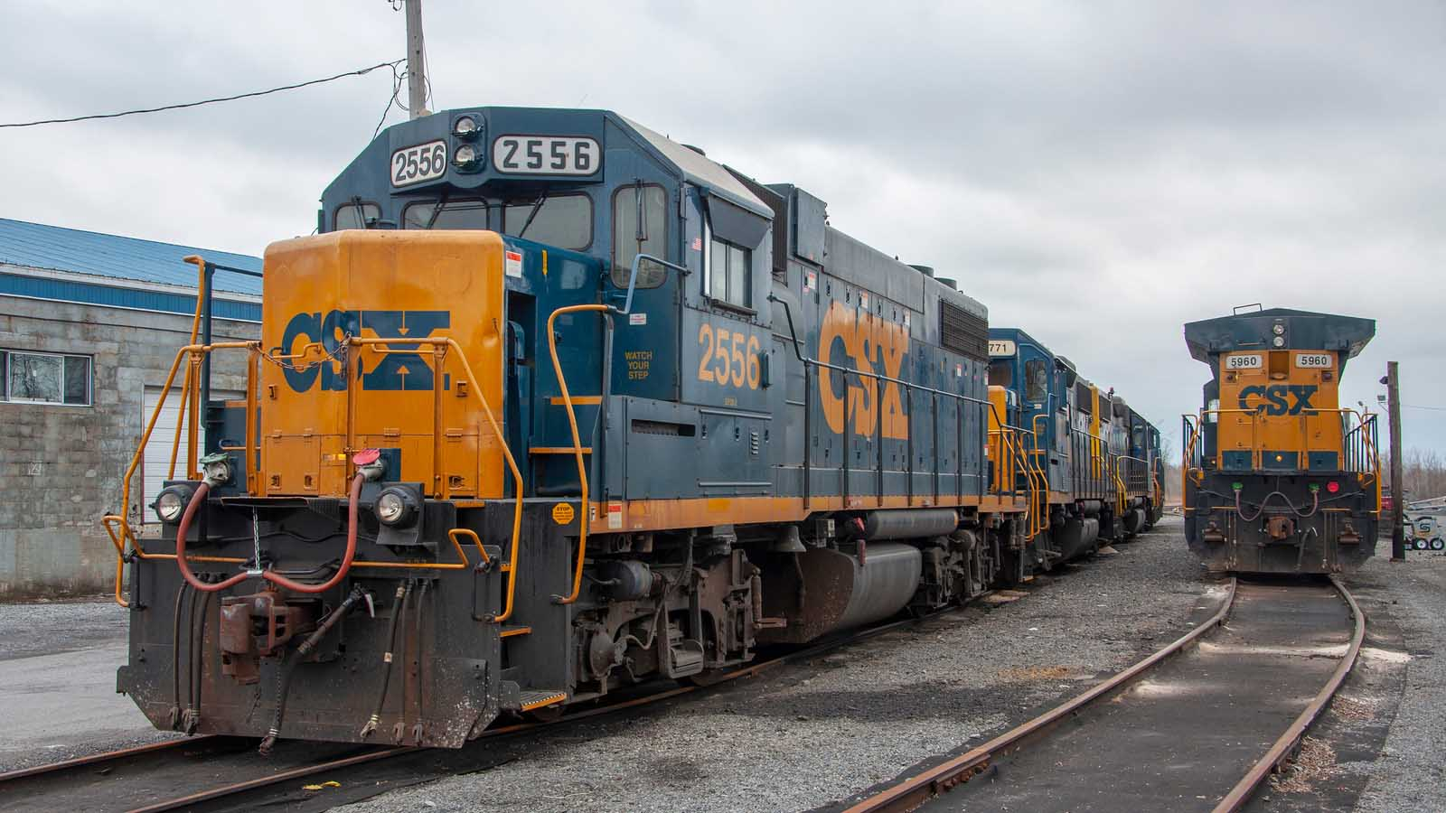 Csx Railroad News >> Csx Earnings Csx Stock Falls 3 After Hours On Q4 Results